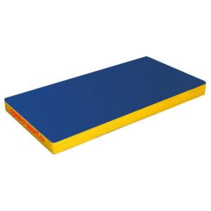Спортивный мат Огниво-спорт (100 х 50 х 10) сине-желтый
