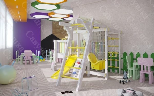 Детский игровой комплекс САВУШКА BABY CLUB - 2