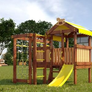 Детский игровой комплекс для дачи САВУШКА BABY PLAY – 1