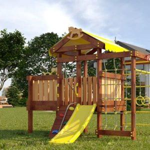 Детский игровой комплекс для дачи САВУШКА BABY PLAY – 3
