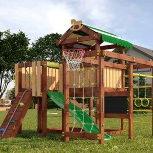 Детский игровой комплекс для дачи САВУШКА BABY PLAY – 8