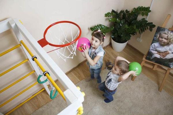 Игровой комплекс Савушка Baby баскет фото