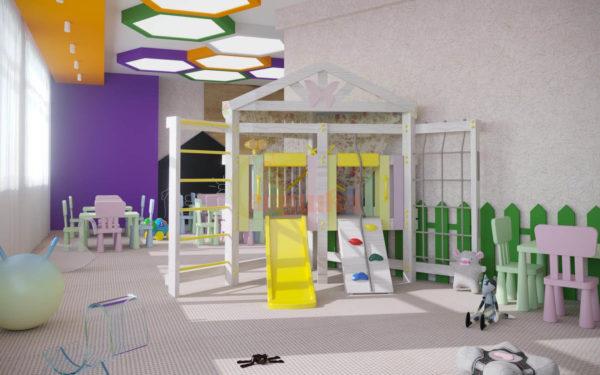 Игровой комплекс Савушка Baby club 9