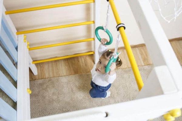 Игровой комплекс Савушка Baby гимнастические кольца фото