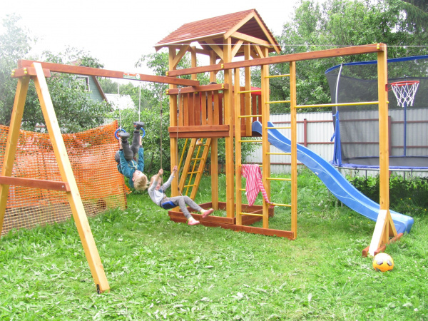 Детская площадка Савушка 6 фото