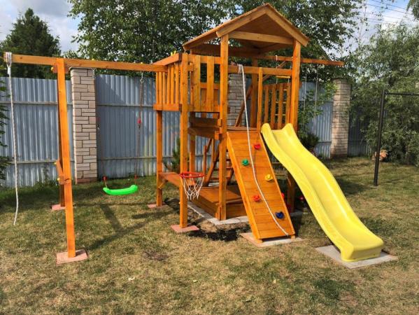 Детская площадка Савушка Мастер 1 фото