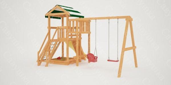 Детская площадка Савушка Мастер 2-3