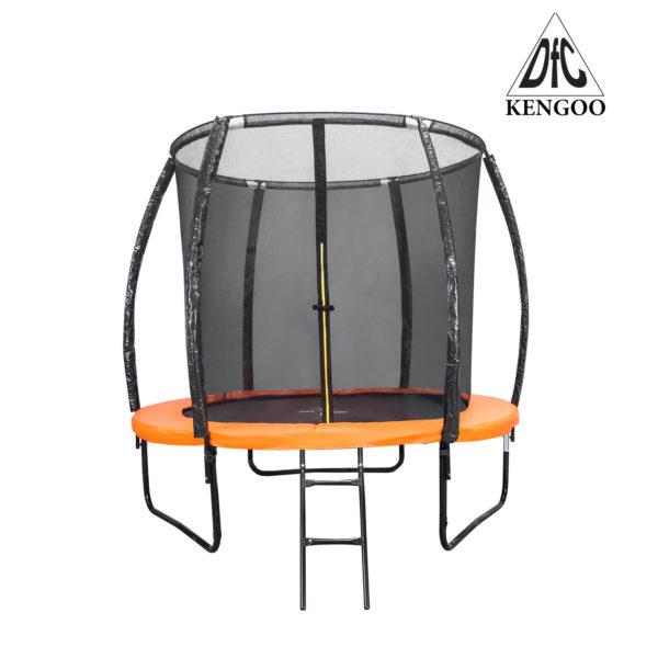 Батут DFC Trampoline Fitness KENGOO II 6FT с сеткой