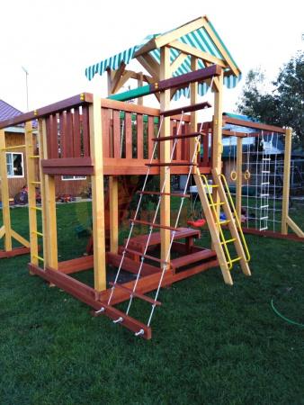 Детская площадка Савушка 15 -фото