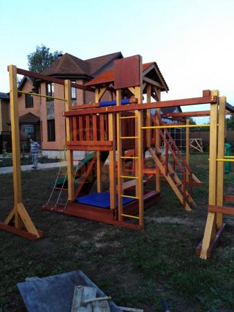Детская площадка Савушка 4 Сезона 10 фото1