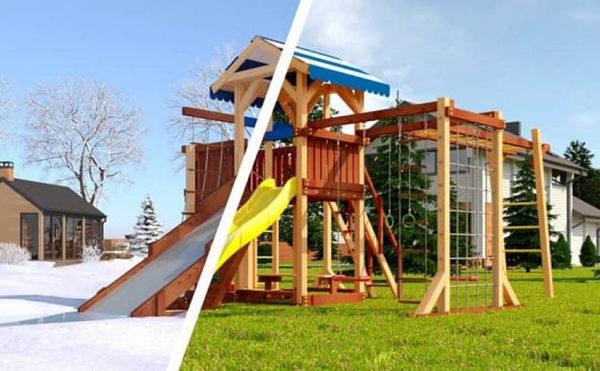 Детская площадка Савушка 4 сезона – 7