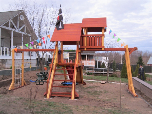 Детская площадка Савушка Люкс 10 фото1