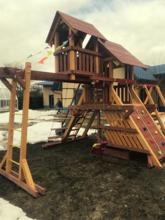 Детская площадка Савушка Люкс 11 фото1