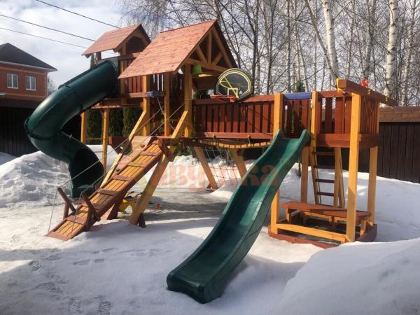 Детская площадка Савушка Люкс 15 фото