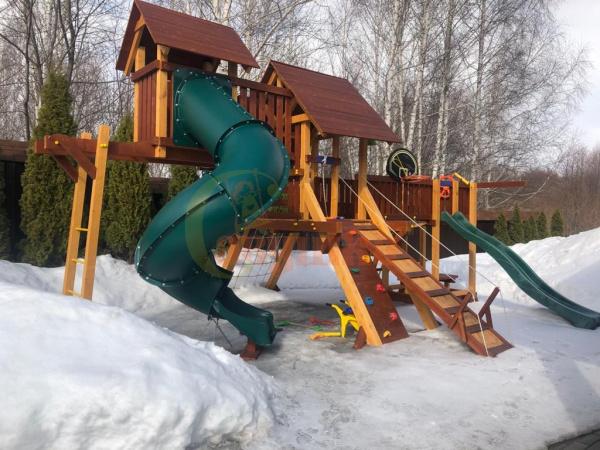 Детская площадка Савушка Люкс 15 фото2