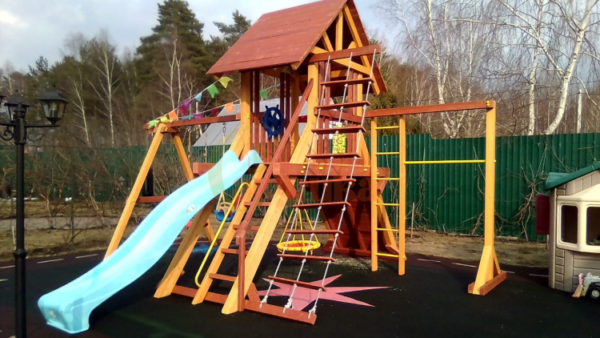 Детская площадка Савушка Люкс 6 фото