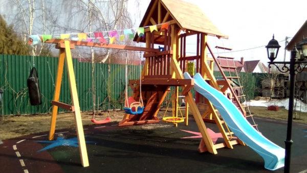 Детская площадка Савушка Люкс 6 фото2