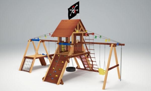 Детская площадка Савушка Люкс 8