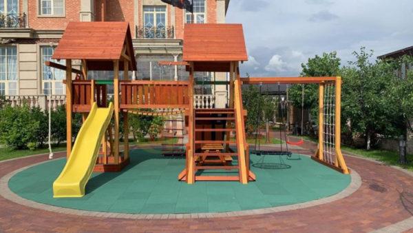 Детская площадка Савушка Люкс 9 - фото