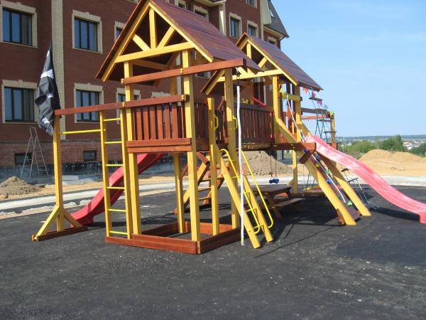 Детская площадка Савушка Люкс 9 - фото1