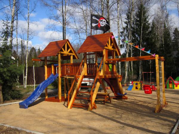 Детская площадка Савушка Люкс 9 - фото3