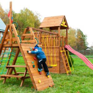 Детская площадка Выше Всех Крепость Спорт1