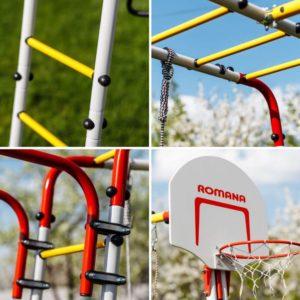 Детский спортивный комплекс для дачи ROMANA Акробат - 2_5