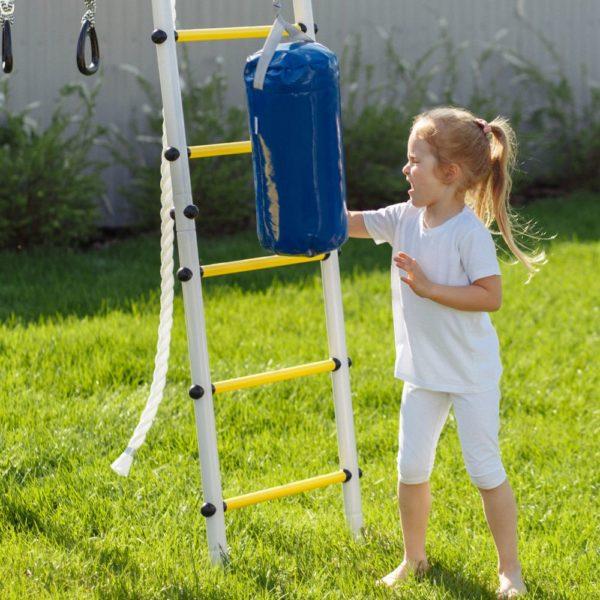 Детский спортивный комплекс для дачи ROMANA Fitness_2