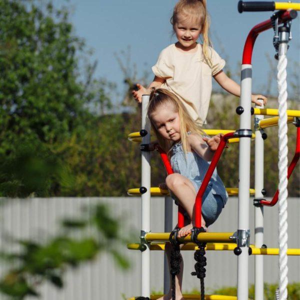 Детский спортивный комплекс для дачи ROMANA Космодром _1