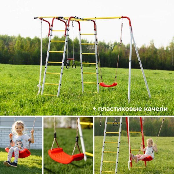 Детский спортивный комплекс для дачи ROMANA Веселая лужайка - 2_2