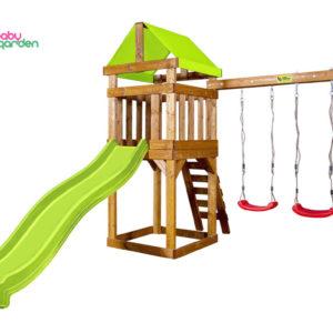 Детская игровая площадка Babygarden Play 2 (light green)