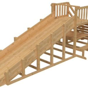 Зимняя деревянная заливная го
