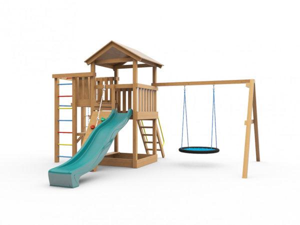 Детская игровая площадка Лео с гнездом_1