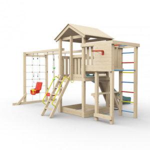 Детская площадка для дачи Лео макси_1